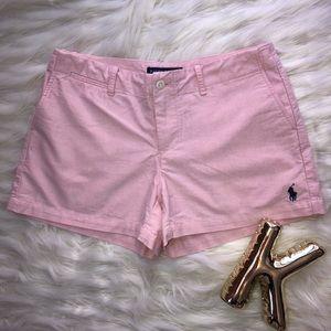 RALPH LAUREN pink shorts size 4